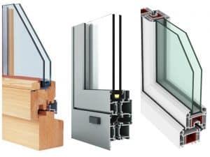 Lesena ali PVC okna?