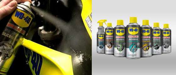 wd 40 motorbike products