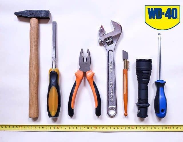Förvaring och underhåll av trädgårdsverktyg