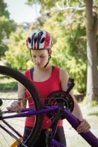 Enkla steg för underhåll av cykelkedjor