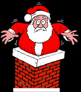 Sitter jultomten fast i din skorsten?