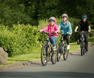 Fem mycket bra destinationer för cykelsemestrar
