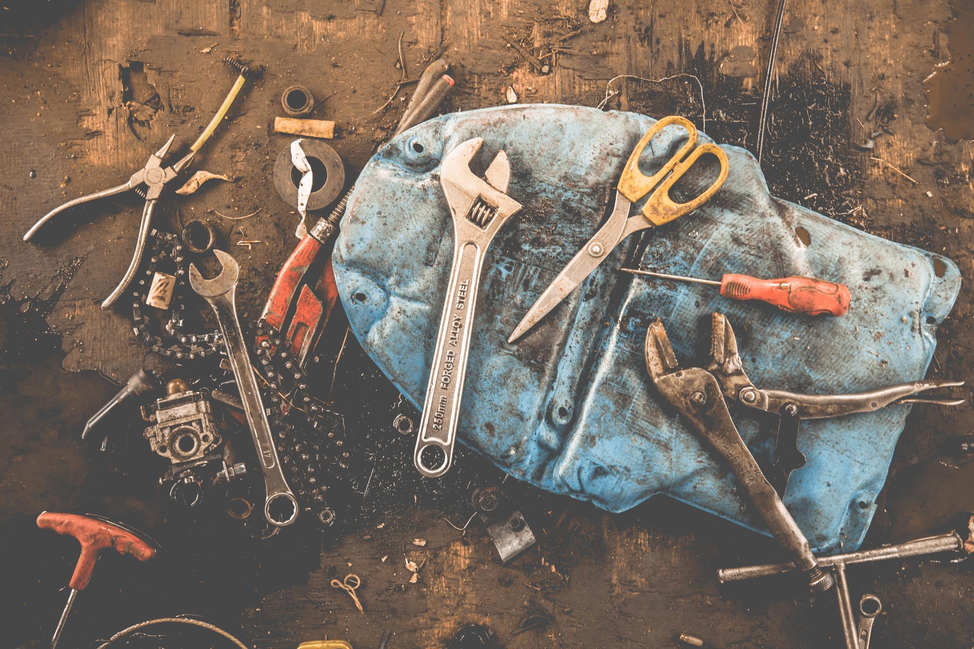 rust on tools