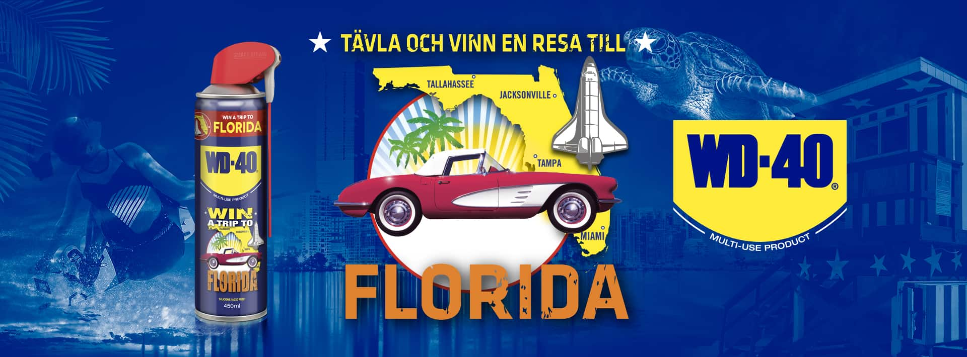 Vinn en resa till Florida