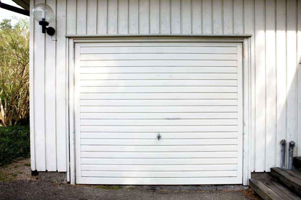 Hur man smörjer en garageport
